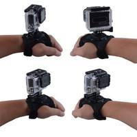 PROMO Glove Style Velcro Wrist Band Strap Xiaomi Yi GoPro Hero Hero 3 +