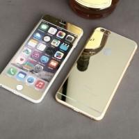 IPHONE 7 PLUS TEMPERED GLASS MIRROR 2in1 DEPAN BELAKANG | SCREEN GUARD