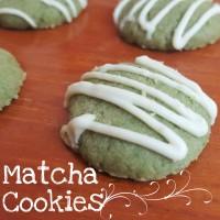 Matcha Cookies / Green Tea Cookies | Kue kering | Kie Natal