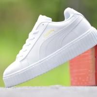 harga Sepatu Wanita Puma Rihana Grade Ori Full White Putih / casual sneakers Tokopedia.com