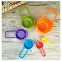 sendok takar plastik penakar takaran measuring spoons ukur bumbu spoon