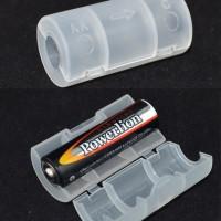 battery AA-C baterai conversion converter case tempat baterai batere