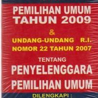 UU RI No.10 Tahun 2008 Tentang Pemilihan Umum Tahun 2009