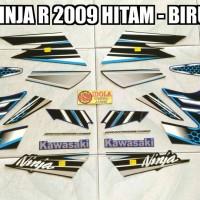 Striping Ninja R 2009 Hitam - Biru