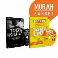 Yakin Lolos Beasiswa LPDP! Buku + DVD JAMU LPDP & TOEFL KILLER