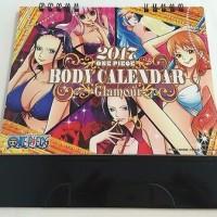Tabletop One Piece Body Calendar 2017 Glamour theme - Japan