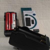 harga Charger 2 in 1 Baterai 18650/ Baterai Ultrafire / Swat Tokopedia.com