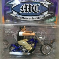Motorcycle Homieroller Wolf and Night Crawler by Jada toys scala 1:24