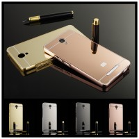 LUXURY ALUMINIUM BUMPER MIRROR XIAOMI REDMI NOTE 2/ PRIME GOOD QUALITY