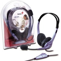 Genius HS-04S Headset and Earphone