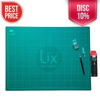 Paket Cutting Mat A2 + Pen Cutter