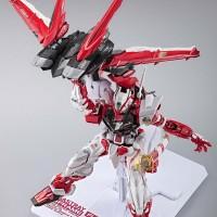 Bandai Metal Build - Astray Red Frame Gundam + Flight Option Unit