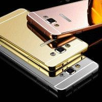 LUXURY ALUMINIUM BUMPER MIRROR SAMSUNG A500 / A5 2015 GOOD QUALITY
