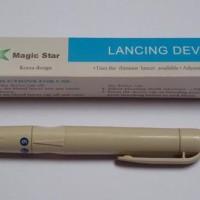 Lancing Device / pen lancet bekam / pena jarum Bekam Magic Star