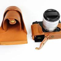 Leather case Fujifilm XEs/XE2