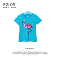 GIRLS T-SHIRT BRANDED COTTON | Atasan Kaos Anak Perempuan Branded 1