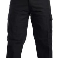Celana Panjang Pria Hitam PDL |Ripstok|Cln Pjg Pria PDL Hitam Kotak