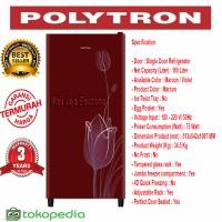 Kulkas 1 pintu Polytron 16 KTR Belezza 2