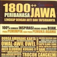 1800++ PERIBAHASA BAHASA JAWA