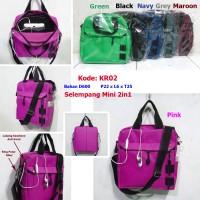 harga Tas Selempang Pria Wanita Mini KR02 | Sling bag | Jansport | Adidas Tokopedia.com