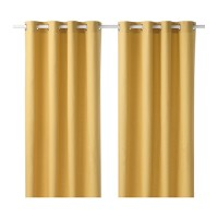 IKEA MARIAM CURTAINS [ Yellow ]