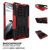 Casing RUGGED ARMOR Lenovo A6000 PLUS A6010 HP Soft Hard Case Cover