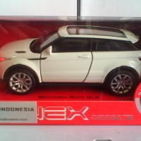 Diecast Land Rover Range Rover Evoque - White (Welly Nex)
