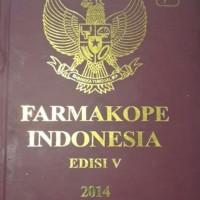 FARMAKOPE INDONESIA edisi V 2014