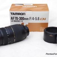 harga Lensa Tamron Af70-300/f4-5=6 For Canon Tokopedia.com