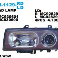 HEAD LAMP FUSO 8DC / 6D22 350 1994 355 Diskon