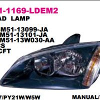 HEAD LAMP FORD FOCUS 2005 Murah