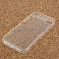 Smooth Surface Translucent TPU Case for iPhone 5/5s/SE