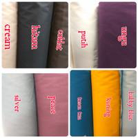 harga kain Kanvas polos lebar 1.50cm Tokopedia.com