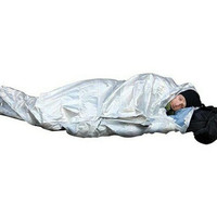 Emergency Thermal Bivvy Sleeping Bag SleepingBag Bivy Gunung Blanket