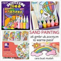 Sand Painting (Mewarnai Pasir)