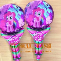 balon pentung little pony / balon little pony / balon pentung karakter