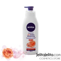 Nivea Body Lotion UV Extra Whitening SPF 15 - 400ml