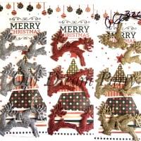 harga Ornamen Pohon Natal/ Hiasan Natal/ Gantungan Pohon Natal Rusa Tokopedia.com