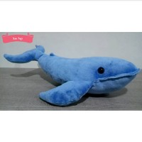 Boneka Ikan Paus Biru (Blue Whale)
