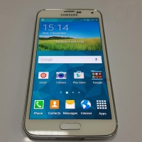 Samsung Galaxy S5 16gb Shimmery White (SECOND) PREORDER KODE 647
