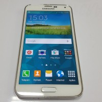 Samsung Galaxy S5 16gb Shimmery White (SECOND( PREORDER KODE 643