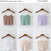 Beige,Coffee,Green,Violet Sling (S,M),White (M) Casual Top - 40853