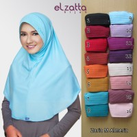 Jual Kerudung Jilbab Instan Bergo Zaria M Almeria Elzatta Murah