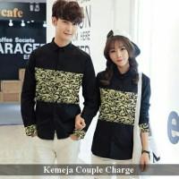 Kemeja Couple Terkini | Fashion Couple Murah | Charge