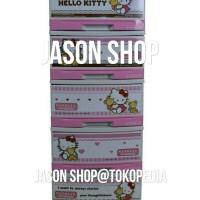 harga Lemari plastik/mini container serbaguna napolly hello kitty susun 5 Tokopedia.com