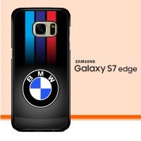 Carbon Fiber Bmw Logo X3210 Samsung Galaxy S7 Edge Custom Case Cover