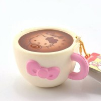hello kitty cafe cup squishy original packaging