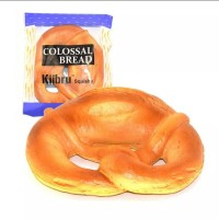 kiibru pretzel colossal bread squishy original packaging slow rising