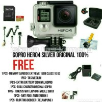 New Action Cam / Kamera GoPro Hero 4 Silver Edition Paket Go Pro Hero4