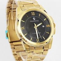 jam tangan original Charlie Jill 1238mk plat hitam (toko online Bali)